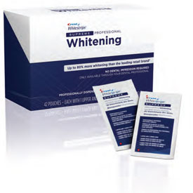 Professional Crest White Strips Supreme